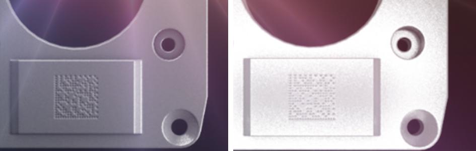 barcode reader lighting DPM code