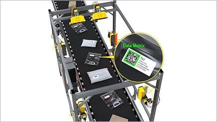 Tunnelsystem für die Rückverfolgbarkeit von Verpackungen