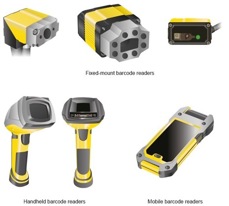 Types of barcode readers