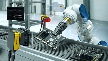 Industry 4.0 Machine vision automated conveyor inspection