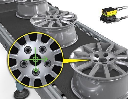 Un esempio di ispezione automobilistica di PatMax