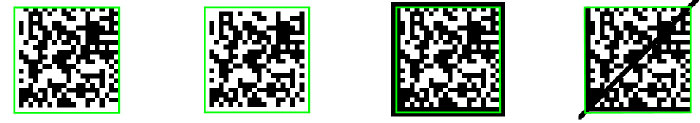 PowerGrid-Algorithmen lesen beschädigte 2D-Codes