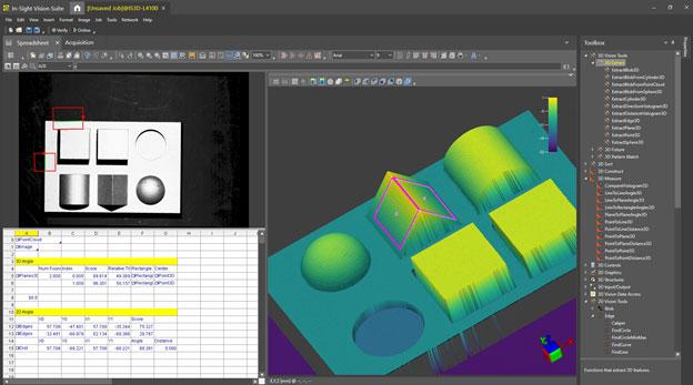 Représentation d'un objet en nuages de points2D et 3D