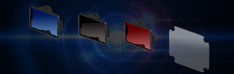 Various optical filters that can be used for machine vision applications