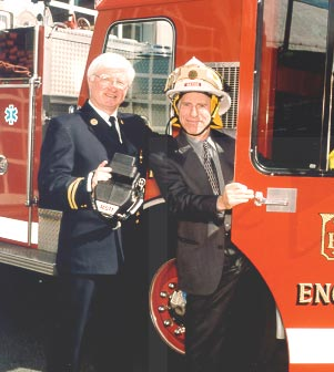 Giving-philosophy dr Bob fire chief