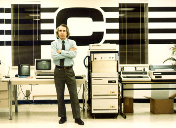 Cognex Dr. Bob Shillman with early product