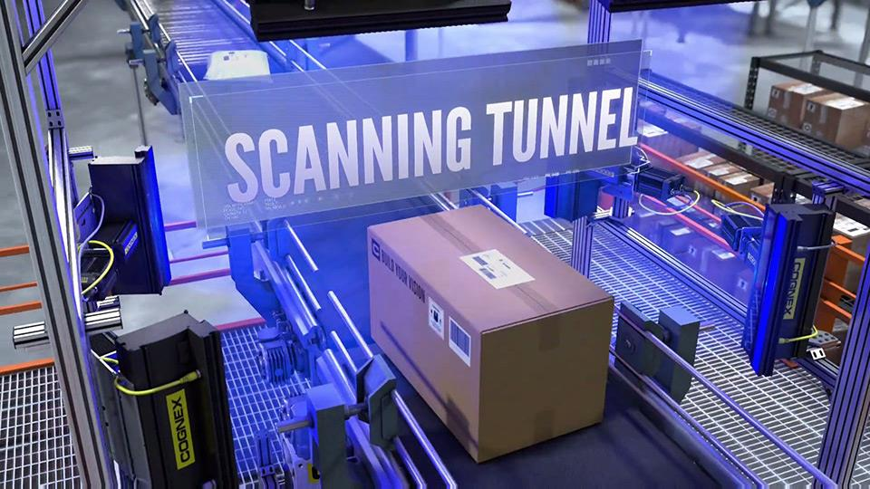 Cognex Logistics Scanning Tunnel for packages
