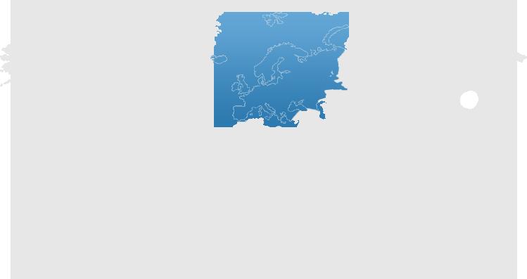 Europe world map