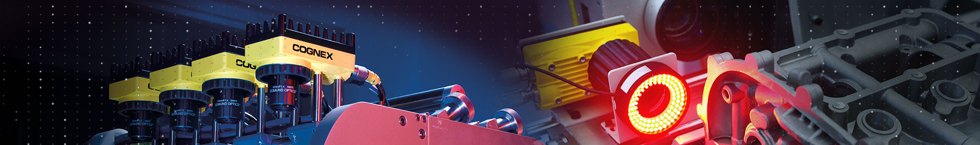 Cognex Product Applications banner