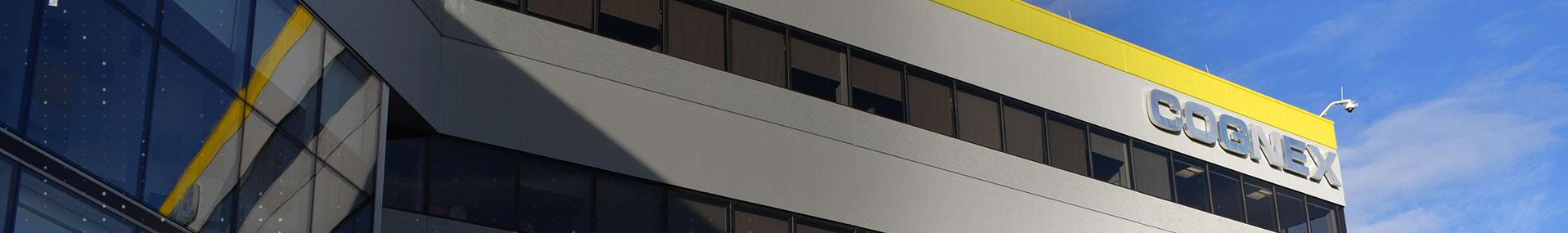 Cognex Company Logo on Building