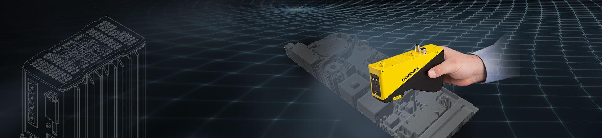 3D Laser profile Sensor banner