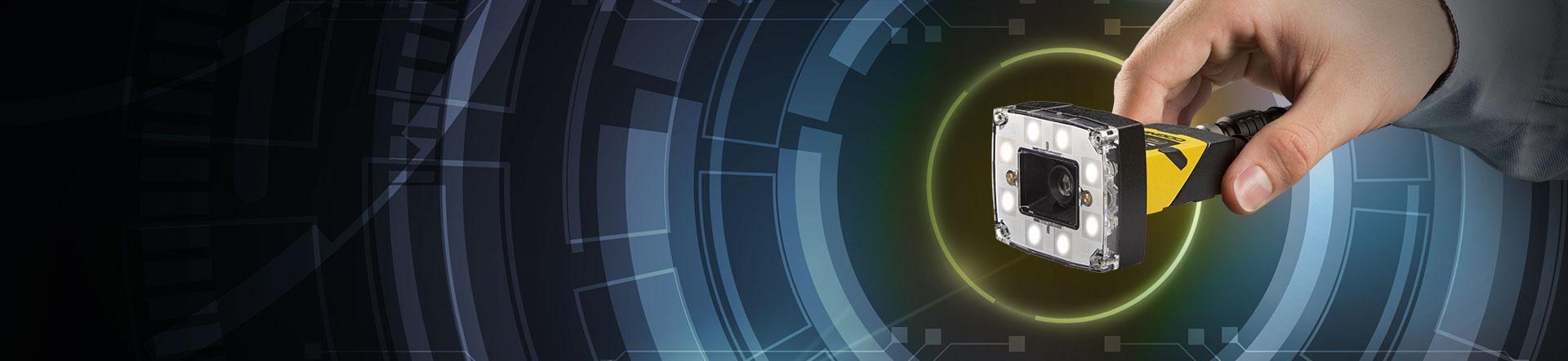 Cognex In-Sight Vision Sensors banner