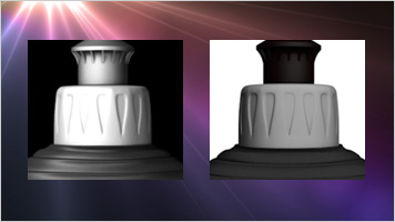 Lighting Advisor dish soap bottle cap lighting comparison