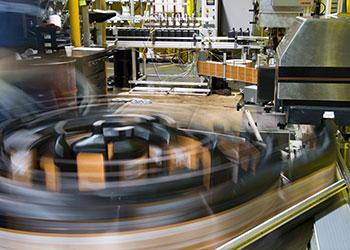 OEM factory high speed bottle labeling