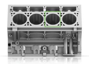 Cylinder block inspection pass