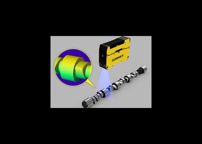Cognex 3D Laser Profiler Cam shaft nodes