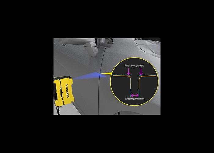 Cognex 3D Laser Profiler Car door Flush and Gap