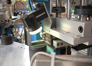 Cognex checker Oil Cap Assembly inspection