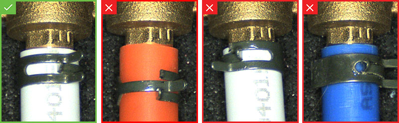 Abrazadera POPP - Más ejemplos