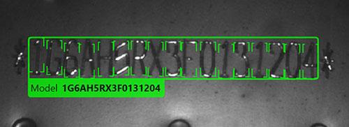 Vehicle Identification Number Deformed OCR Inspection
