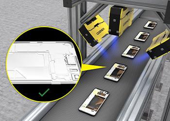 Post-assembly verification using Cognex 3D laser scanners