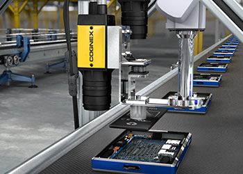 Precision robot guidance using Cognex insight 8000 to manufacture consumer electronics