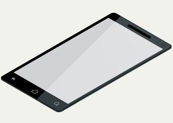digital rendering of customer electronic screen
