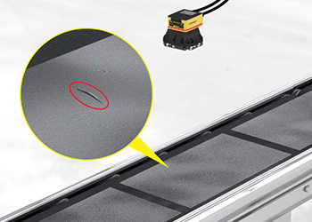 Material Quality Inspection Camera Identifies Rip