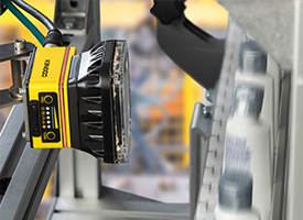 Cognex In-sight 7000 series inspects bottle cap placement to reduce-waste