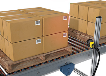 Warehousing and Distribution Center Pallet Scan
