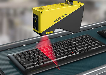 finished keyboard manufacturing checked with 3d laser scan