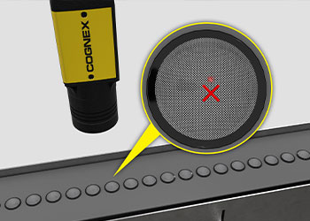 Mobile Device Speaker Mesh Inspection