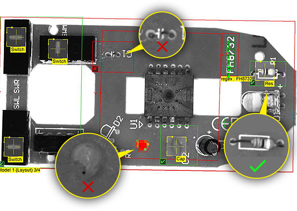 Mouse PCB Inspection - more examples