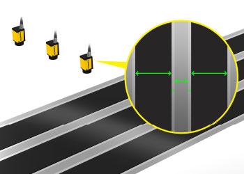 Electrode EV Battery Coating Width Gauging