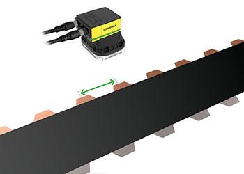 EV Battery Electrode Tab Distance Gauging