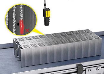 Laser Profiler checking EV Battery Busbar Welding