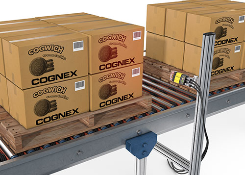 Cognex dataman system multiple barcode reading pallet scanning