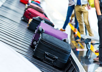 airport luggage baggage tracking carousel
