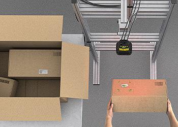 presentation scanning of boxes for order fulfillment