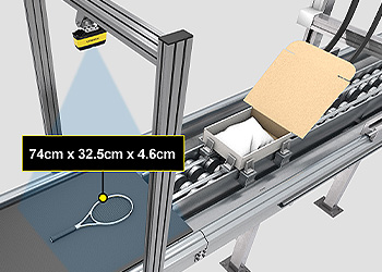 Packaging optimization for packaging dimensioning