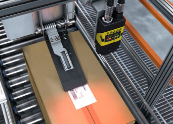 print and apply label reading with cognex dataman