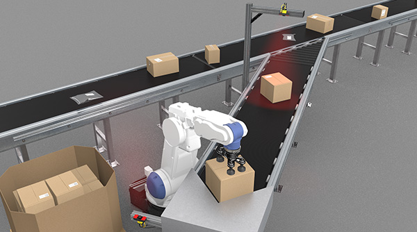 Ship Sorter Induction - Robotic Induction