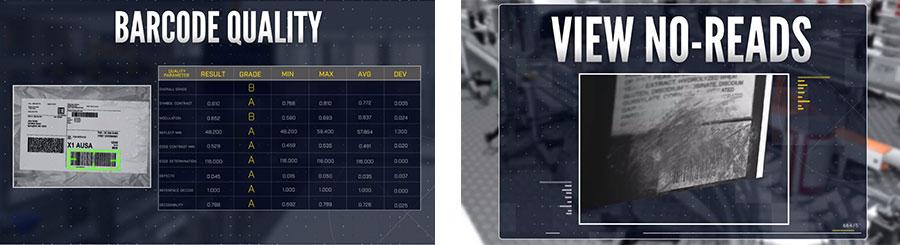 Escaneo del clasificador de envíos - Control del rendimiento