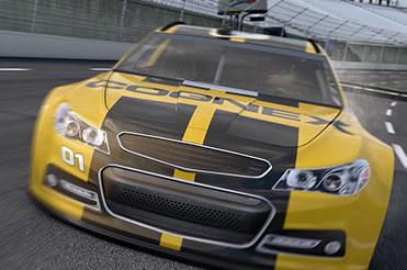 Cognex Automotive race car