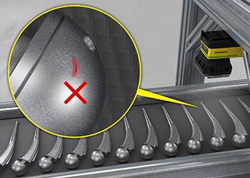 rilevamento dei difetti di sostituzione dell'anca