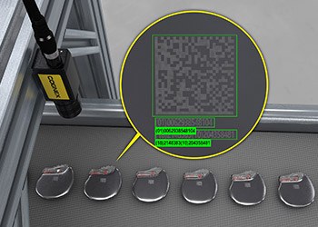 In-sight 8000 reading UDI codes on medical device