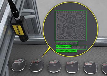 inspección de calidad de códigos DPM