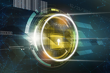 Product Security Solutions lock with barcodes