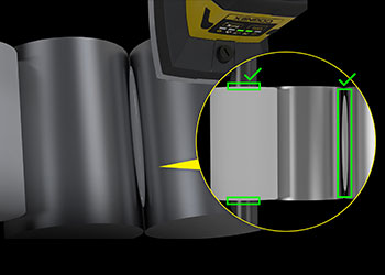 Cigarette Tipping Paper Alignment and Glue Detection