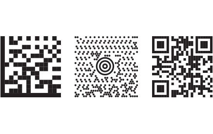 2d cades, datamatrix, maxi code, and qr code